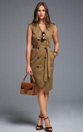 Жіноча сукня-жилет приталеного крою Burdastyle