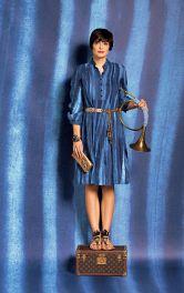 Жіноча сукня з пластроном Burdastyle