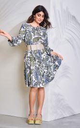 Женское платье А-силуэта Burdastyle
