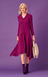 Женское асимметричное платье Burdastyle фото 1
