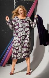 Жіноча багатошарова сукня Burdastyle