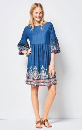 Жіноча сукня бебі-долл Burdastyle