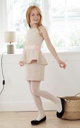 Детское платье с баской Burdastyle фото 1