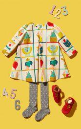 Детское платье А-силуэта Burdastyle фото 1
