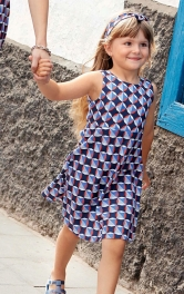 Дитяча сукня відрізна Burdastyle