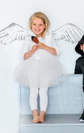 Дитячий костюм Принцеса Лебідь Burdastyle