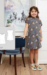 Детское трикотажное платье Burdastyle фото 1
