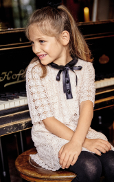 Дитяча мереживна сукня Burdastyle