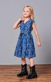 Дитяча сукня з запахом Burdastyle