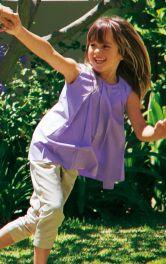 Дитяча туніка А-силуету Burdastyle