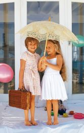 Дитяча сукня з пишною спідницею Burdastyle