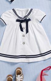 Дитяча сукня в матроському стилі Burdastyle