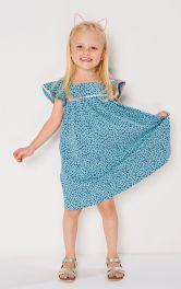 Детское платье А-силуэта Burdastyle