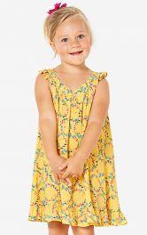 Дитячий сарафан з оборками Burdastyle