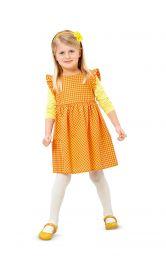 Дитяча відрізна сукня Burdastyle