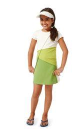 Дитяча трикотажна сукня Burdastyle
