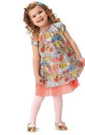 Дитяча сукня А-силуету Burdastyle