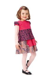 Дитяча сукня силуету ампір Burdastyle