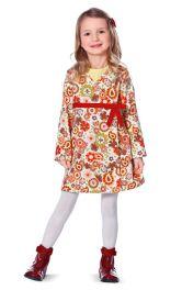 Дитяча вельветова сукня Burdastyle