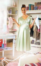 Жіноча сукня силуету ампір для вагітних Burdastyle