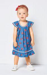 Дитяча сукня розкльошеного крою Burdastyle