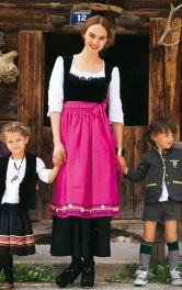 Жіночий баварський костюм Burdastyle