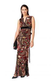 Жіноча сукня максі Burdastyle