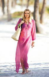 Жіноча сукня максі прямого крою Burdastyle