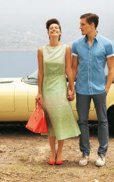 Жіноча сукня міді в ретро-стилі Burdastyle