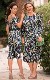 Жіноча сукня на бретелях Burdastyle