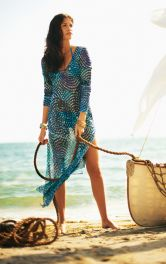 Жіноча довга літня сукня Burdastyle