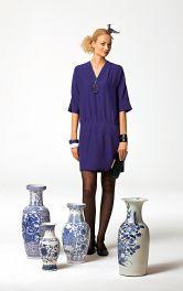 Жіноча шовкова сукня Burdastyle