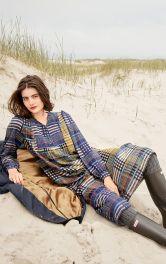 Жіноча довга сукня Burdastyle