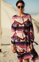 Жіноча сукня з рукавами реглан Burdastyle