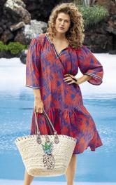 Жіноча сукня просторого крою Burdastyle