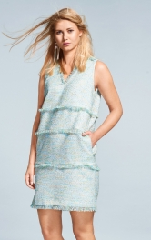 Жіночий сукня Шанель Burdastyle