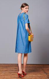 Жіноча сукняпрямого крою Burdastyle