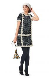 Жіноча коротка сукня Burdastyle