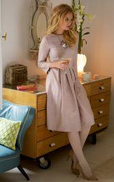 Жіноча сукня зі складками Burdastyle