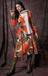 Женское платье с запахом Burdastyle