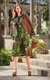 Жіноча сукня з довгими рукавами Burdastyle