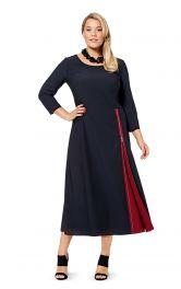 Жіноча сукня розкльошеного крою Burdastyle