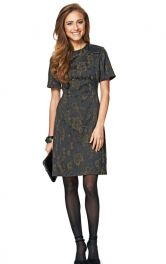Жіноча шерстяна сукня Burdastyle