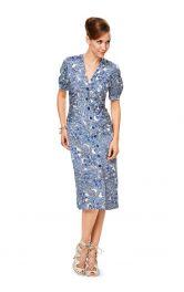 Жіноча сукня приталеного кроюBurdastyle