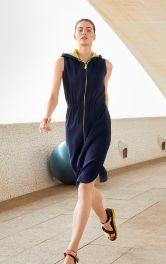 Женское платье в споритвном стиле Burdastyle