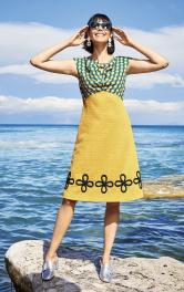 Жіноча сукня із завищеною талією Burdastyle