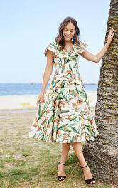 Жіноча сукня в стилі ретро Burdastyle