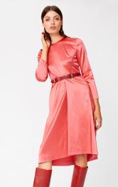 Жіноча атласна сукня Burdastyle