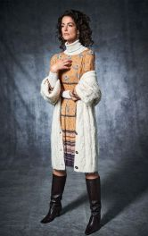 Женское отрезное платье Burdastyle