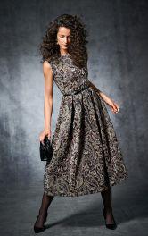 Женское коктейльное платье Burdastyle